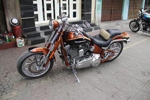 Harley-Davidson Cvo Springer dep cua CLB Moto Hai Phong