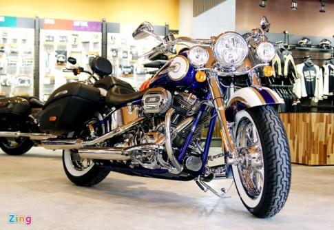 Harley-Davidson sơn thủ công giá 1,4 tỷ đồng ở Việt Nam
