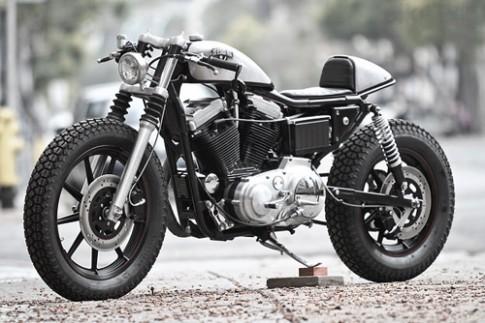 Harley-Davidson Sportster: Em Cafe Racer vô tình