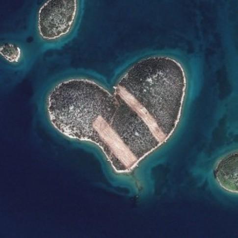 Hình ảnh chụp Trái Đất từ vệ tinh DigitalGlobe
