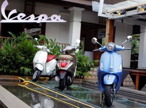 Hơn 10.000 xe Vespa Primavera sẽ được Piaggio Việt Nam triệu hồi