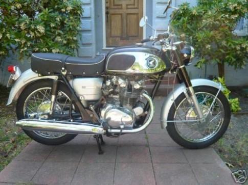 Honda CB 450 KO - sáng mãi với thời gian