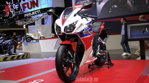 Honda CBR300R được ra mắt thị trường Đông Nam Á