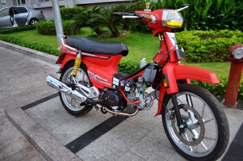 Honda dream do do kieng dinh cao chu chat