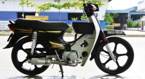 Honda Dream va nhieu loai po do LeoVince