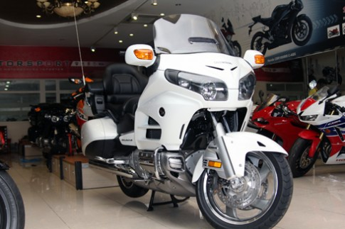 Honda GoldWing Airbag 2014