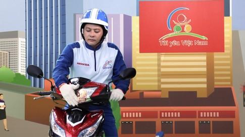 """Honda kỷ niệm 10 năm chương trình """"Tôi yêu Việt Nam"""""""