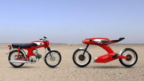 Honda S90 tro lai voi ban Concept Igor Chak