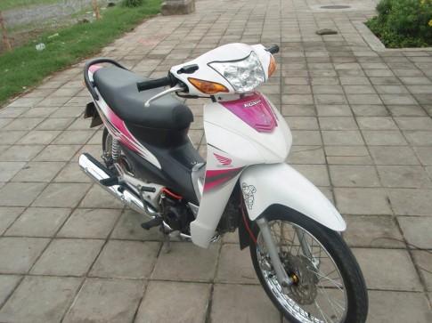 Honda Wave Trang hong