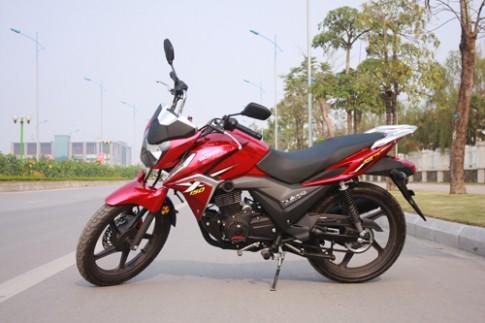 Honda X-150 Bulleting - Nakebike mang dáng dấp CB150R Streetfire