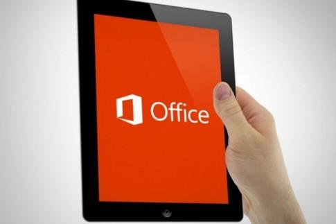 Hướng dẫn để sử dụng Office miễn phí trên iPad