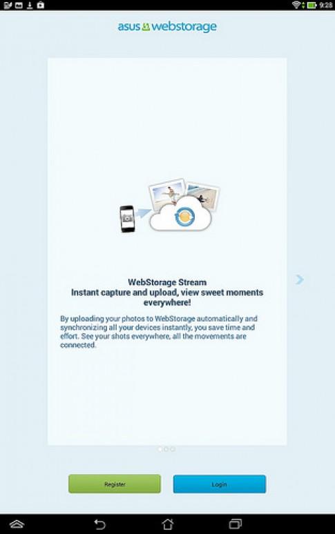 Hướng dẫn sử dụng Asus WebStorage trên thiết bị di động