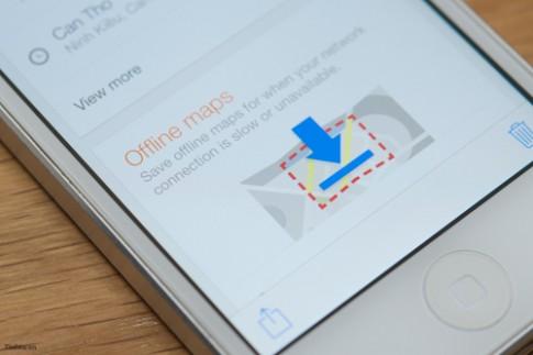 Hướng dẫn tạo bản đồ offline trên Google Maps 3.0