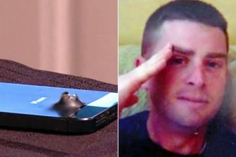 iPhone 5s cứu mạng người lính ngoài mặt trận