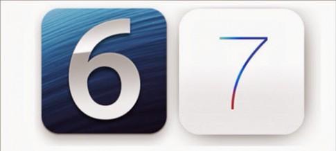 Khoi dong kep iOS 6 va iOS 7 tren iPad 2