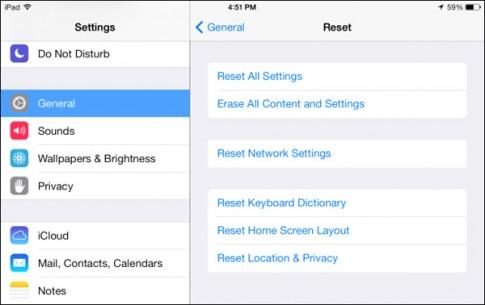 Làm thế nào để reset iPhone/iPad khi máy không khởi động?