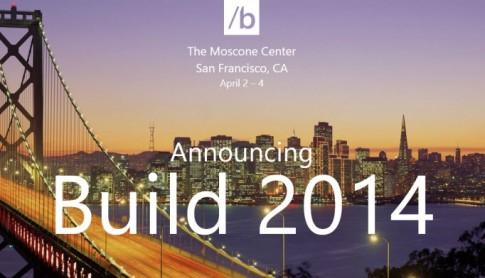 Microsoft mời đăng ký tham dự Build 2014