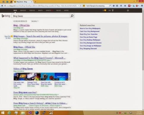 Microsoft thu nghiem cong nghe moi co ten la Bing Saves.
