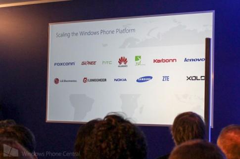 Microsoft tuyên bố nhiều đối tác tham gia sản xuất Windows Phone