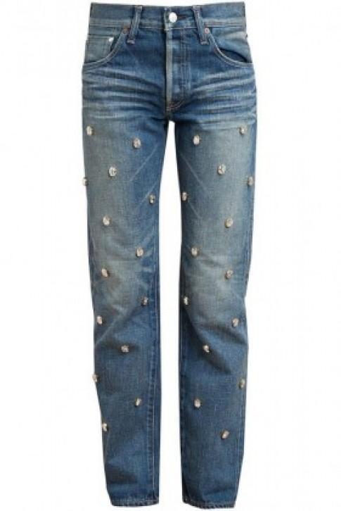 """Những chiếc quần jeans """"đốn tim"""" gái trẻ"""