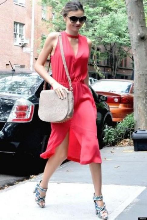 Những chiếc váy hè ngọt lịm từ Miranda Kerr