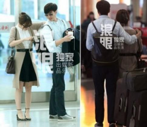 Những khoảnh khắc tình tứ của Chae Rim và bạn trai
