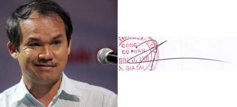 Những người giàu nhất Việt Nam ký tên như thế nào?