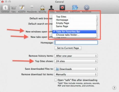 Những thiết lập cần biết trên trình duyệt Safari.
