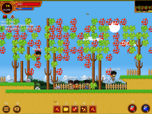 Ninja School Online - Thế giới Ninja đầy màu sắc