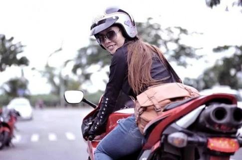 Nữ biker Sài thành và niềm đam mê mô tô phân khối lớn