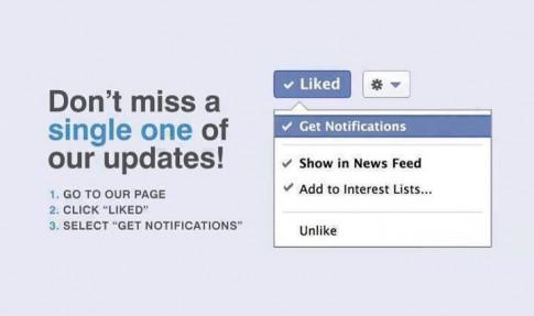 Nút Stop Notifications trên Facebook: có thể bạn chưa biết!