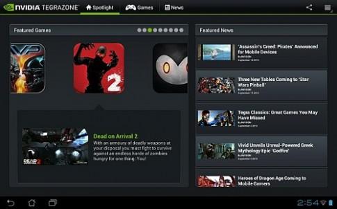 Nvidia cho phép mọi máy Android truy cập TegraZone