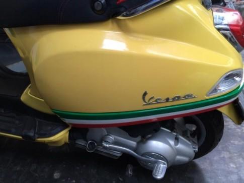 Piaggio LX125 2008 hàng nhập Italia màu vàng