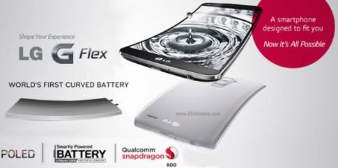 Pin của LG G Flex trụ được 2-3 ngày