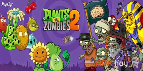 Plants vs. Zombies™ 2 v2.3.1 Mod Cuộc chiến Zombie Android