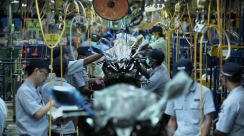 Quá trình sản xuất và lắp ráp Yamaha R25