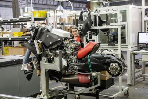 Quy trình lắp ráp các siêu phẩm Ducati