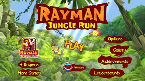 Rayman Run: game hay nhất 2013 đang free trên Appstore