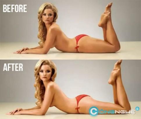 Retouch cơ thể siêu nhanh bằng Photoshop