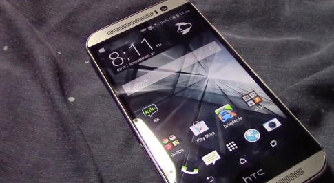 [Rò rỉ] Clip trên tay HTC One 2014: The All New One