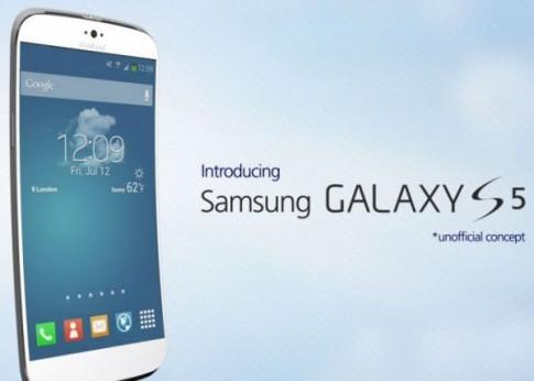 Samsung Galaxy S5 màn hình cong sắp sản xuất