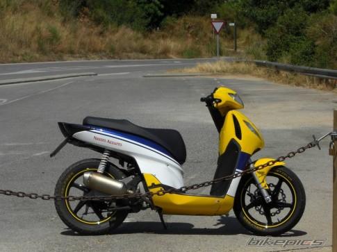 SH của Ý phong cách racing