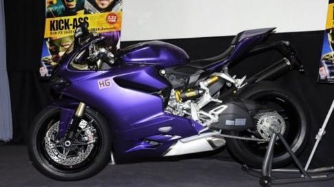 Siêu moto Ducati 1199 Panigale 'màu tím hoa sim'