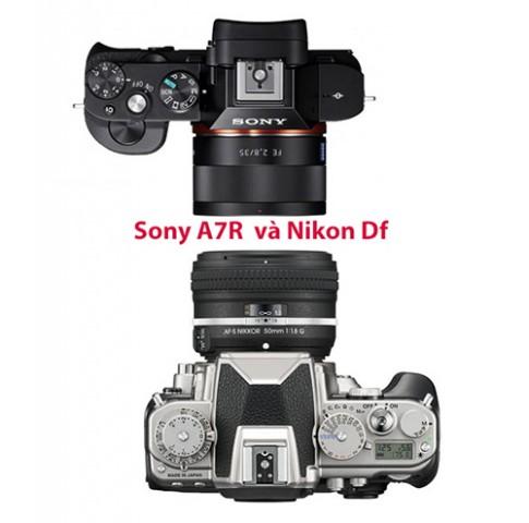 Sony A7R va Nikon Df chon cai nao