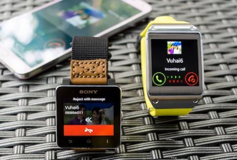 Sony Smartwatch 2 - Galaxy Gear: chọn em nào?