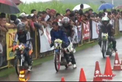 Suzuki Raider đua Drag tại Philippin