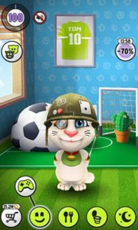 Talking Tom cho pc - Choi game talking tom tren may tinh