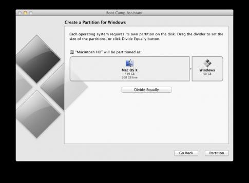 Tạo ổ đĩa HDD dùng chung cho Mac và Win trên Macbook Pro