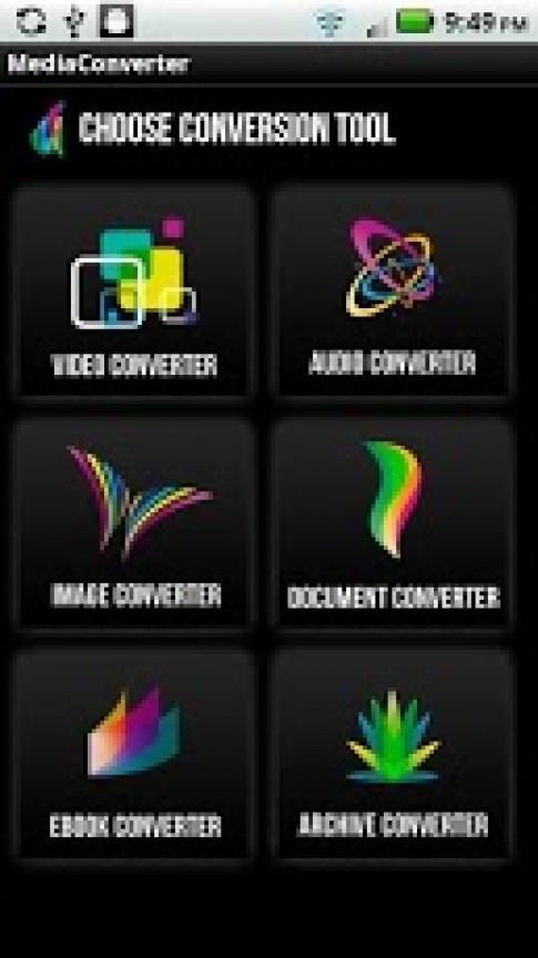 The File Converter - Tải phần mềm đổi đuôi video cho android