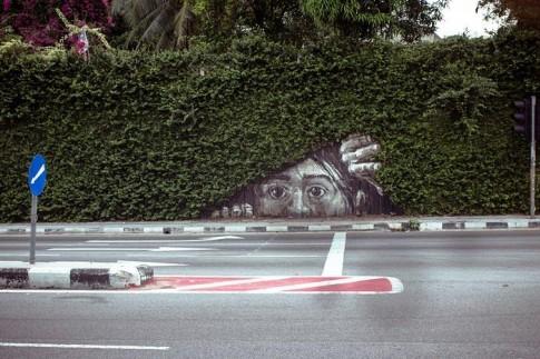 Thích thú với sự biến hóa của nghệ thuật đường phố đầy khéo léo